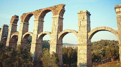 The Roman Aquaduct near Moria